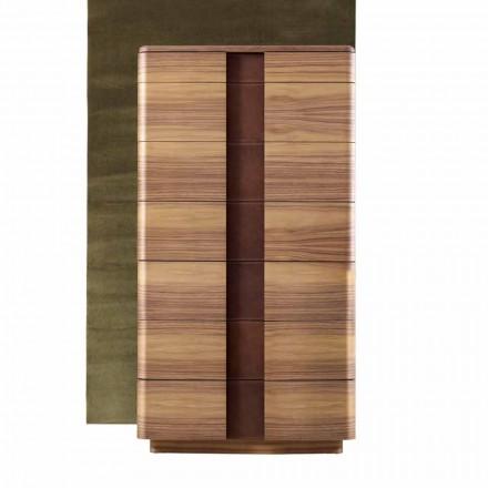 Settimino in legno massello moderno Grilli York fatto in Italia