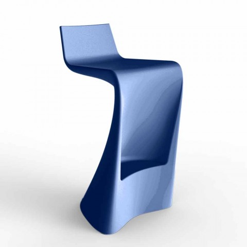Sgabello bar per esterno design moderno Wing Vondom in polietilene
