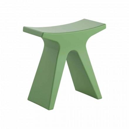 Sgabello Basso da Esterno di Design in Polipropilene Made in Italy - Prue