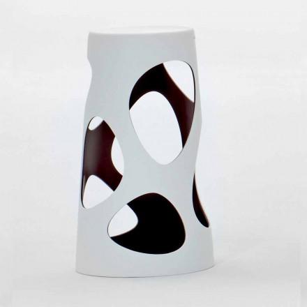 Sgabello Esterno o Interno Impilabile Bianco o nero 2 Pezzi - Liberty by Myyour