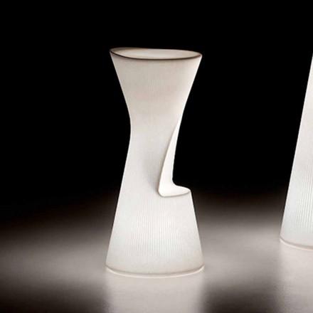 Sgabello Luminoso da Esterno in Polietilene con LED Made in Italy - Desmond