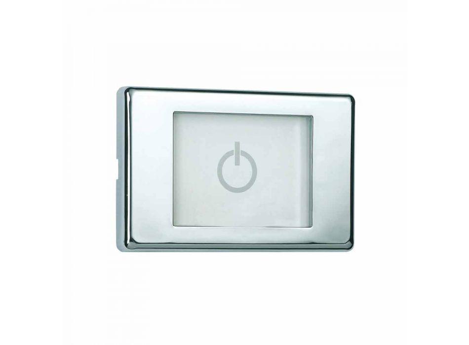 Soffione doccia moderno a quattro funzioni con luci LED Dream