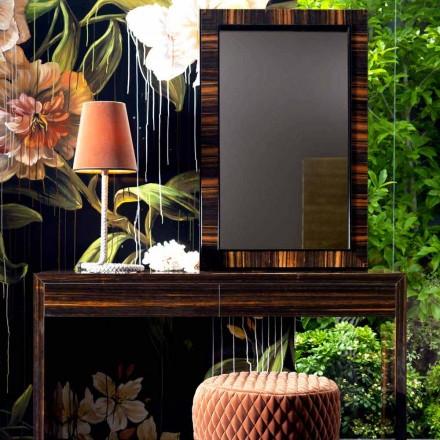 Specchiera a muro/da terra legno ebano Grilli Zarafa fatta in Italia