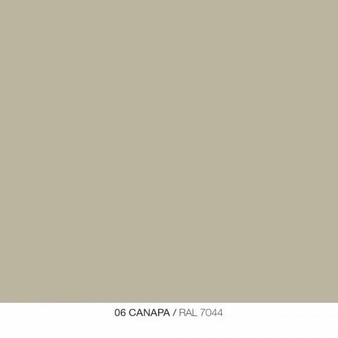 Specchiera a Parete e 3 Mensole in Metallo Colorate a Destra o Sinistra - Noelle