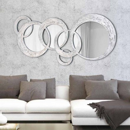 Specchiera da parete di design Circles by Viadurini Decor