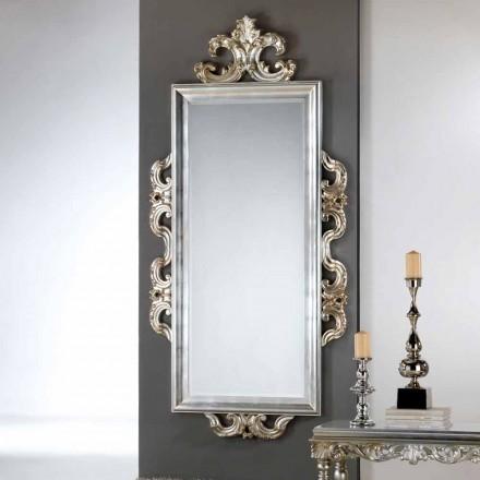 Specchiera da parete di design Guy, 118x240 cm, made in Italy