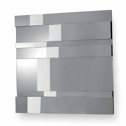 Specchiera da Parete di Design Moderno in Vetro e Metallo Made in Italy – Pallino