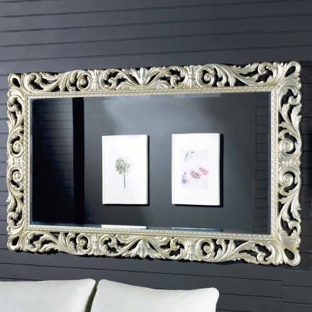 Specchiera da parete legno ayous design moderno fatta in Italia Nicola