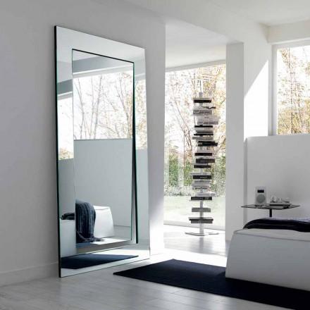 Specchiera da Terra Rettangolare di Design Moderno Made in Italy - Salamina