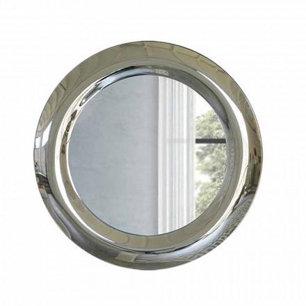 Specchiera Grande da Parete in Finitura Cristallo Made in Italy - Stilla