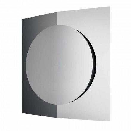 Specchiera Muro di Design Moderno Composta da 3 Pannelli Made in Italy – Bristol
