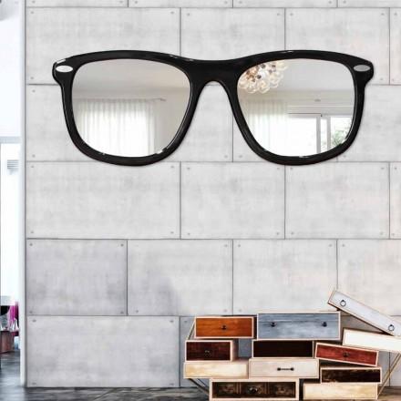 Specchiera da parete moderna Occhiali by Viadurini Decor
