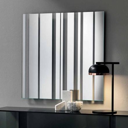 Specchiera Quadrata da Parete di Design Moderno Made in Italy – Coriandolo