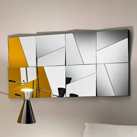 Specchio a Muro Modulare con Specchi Concavi e Convessi Made in Italy – Allegria