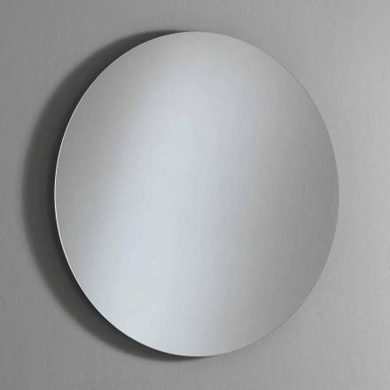 Specchio a Parete Rotondo Retroilluminato con LED Made in Italy - Ronda