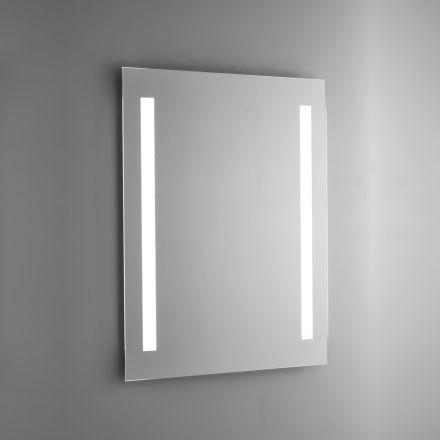 Specchio Bagno a Filo Lucido con Retroilluminazione LED Made in Italy - Tony