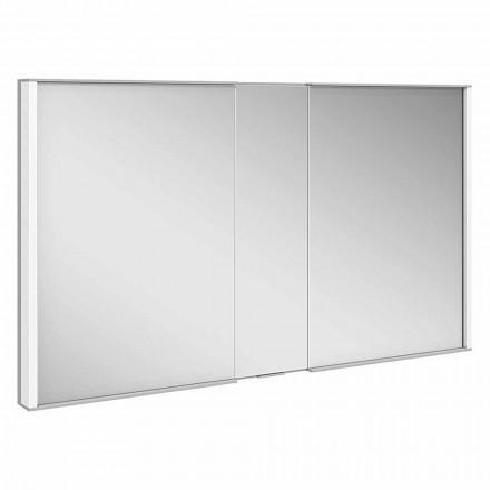 Specchio Contenitore da Incasso, Luce LED e Tastierino Touch, di Lusso - Demon