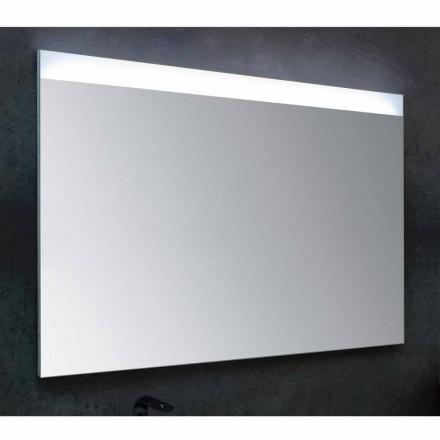 Specchio da bagno con illuminazione LED design modernoYvone