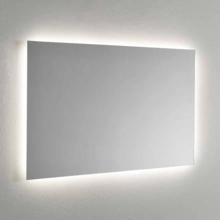 Specchio da Muro con Retroilluminazione LED sui 4 Lati Made in Italy - Romio
