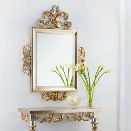 Specchio da muro design classico Guy, 113x155 cm, fatto in Italia