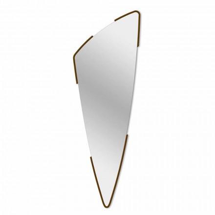 Specchio da Parete Decorativo Design Moderno in 4 Colori Made in Italy - Spino
