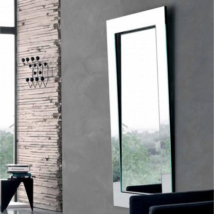 Specchio da Parete Rettangolare con Cornice Inclinata Made in Italy – Salamina