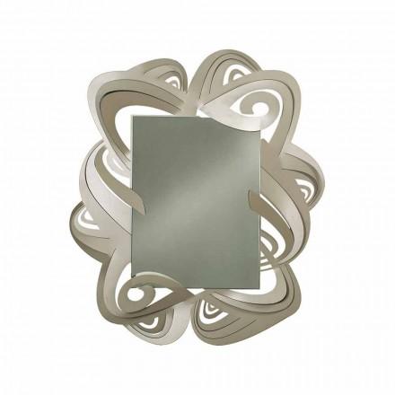 Specchio da Parete Rettangolare Moderno in Ferro Made in Italy – Penny