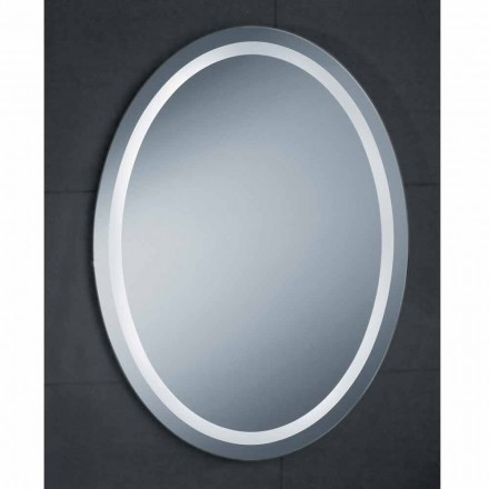 Specchio design moderno con illuminazione LEDda bagno Pura