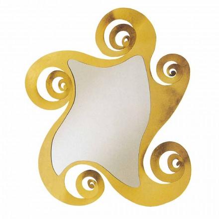 Specchio di Design Moderno da Parete Sagomato in Ferro Made in Italy – Pacifico