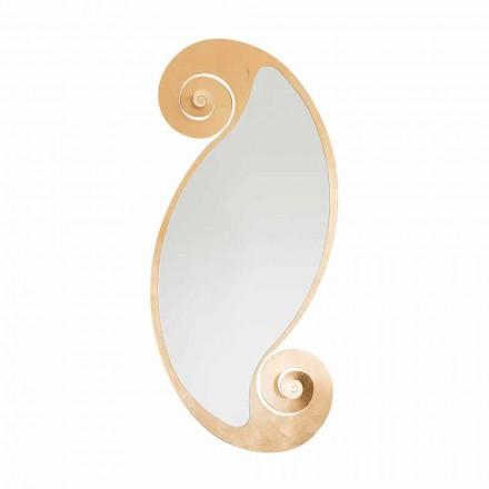Specchio Ovale da Parete di Design Moderno in Ferro Made in Italy – Pacifico