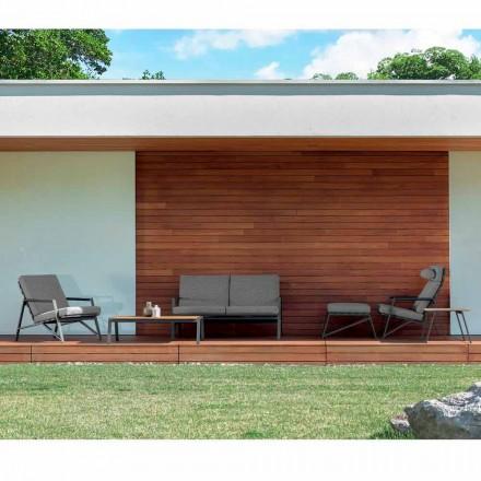 Talenti Cottage composizione salotto moderno da giardino made Italy