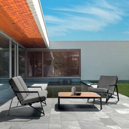Talenti Cottage salotto da giardino di design made in Italy