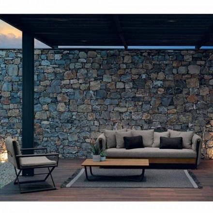 Talenti Domino composizione salotto da giardino di design made Italy