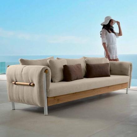 Talenti Domino divano da giardino di design made in Italia