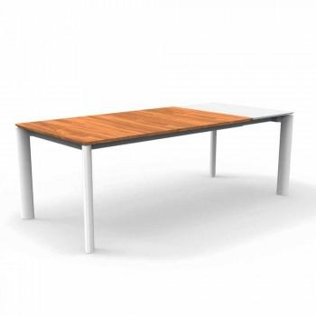 Talenti Domino tavolo allungabile da giardino 200/260cm made in Italy