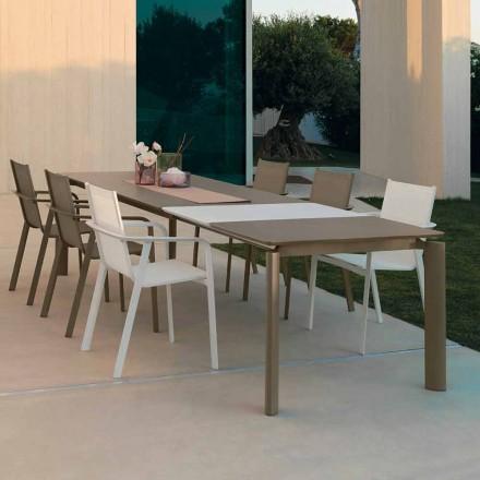 Talenti Milo tavolo da pranzo allungabile da esterno made in Italy