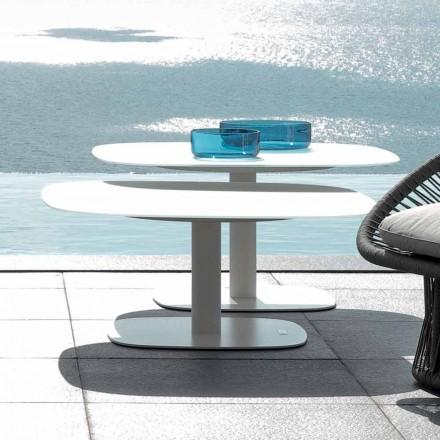 Talenti Rope tavolino da giardino di design moderno made in Italy