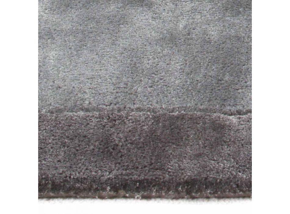 Tappeto Bordato in Cotone e Viscosa Colorato di Design da Soggiorno - Planetario
