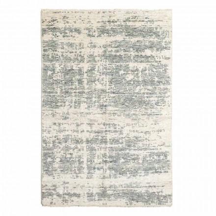 Tappeto di Design Tessuto a Mano in Lana e Cotone da Salotto - Copper