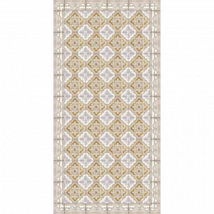 Tappeto in Vinile per Salotto di Design Moderno Rettangolare - Dorado