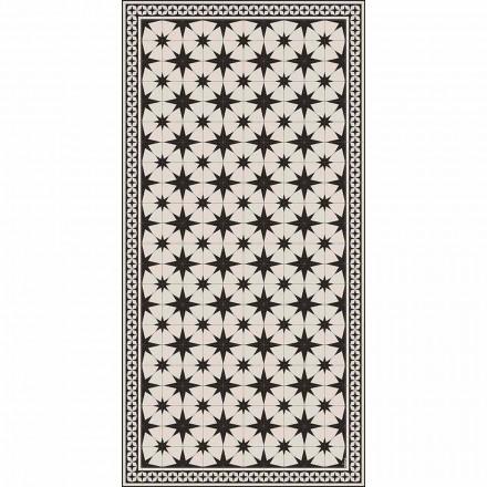 Tappeto Rettangolare in Vinile a Fantasia di Design Moderno - Osturio