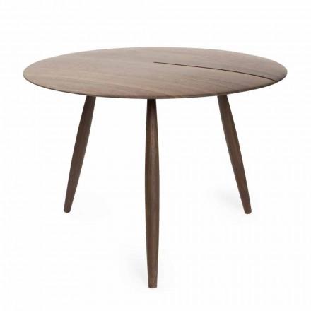 Tavolino da Salotto in Legno Massello Noce o Frassino Made in Italy - Maxime