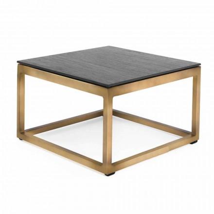 Tavolino da Appoggio per Esterni Design Quadrato 2 Dimensioni 3 Finiture - Julie