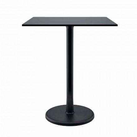 Tavolino da Esterno in Metallo Ghisa e HPL Made in Italy - Burton