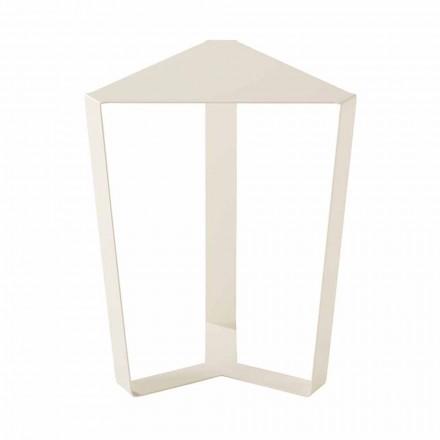 Tavolino da Esterno in Metallo Vari Colori, Design Moderno Italiano - Yasmine