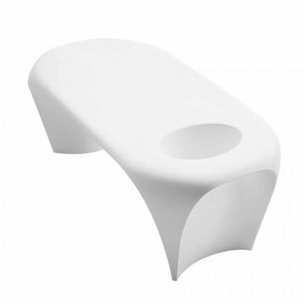 Tavolino da Esterno o Interno con Spumantiera, Design 2 Pezzi - Lily by Myyour