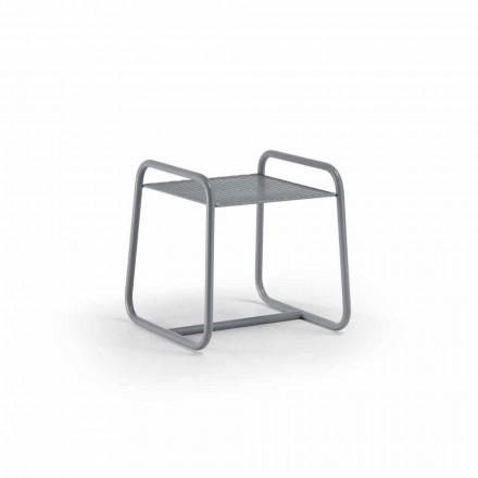 Tavolino da Esterno in Metallo Colorato Alta Qualità Made in Italy - Karol