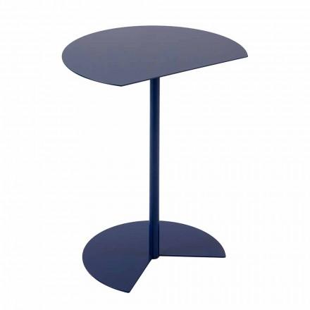 Tavolino da Giardino in Metallo Colorato di Design Moderno in 3 Misure - Cettina