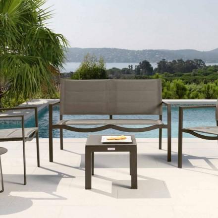 Tavolino da giardino moderno modello Touch by Talenti