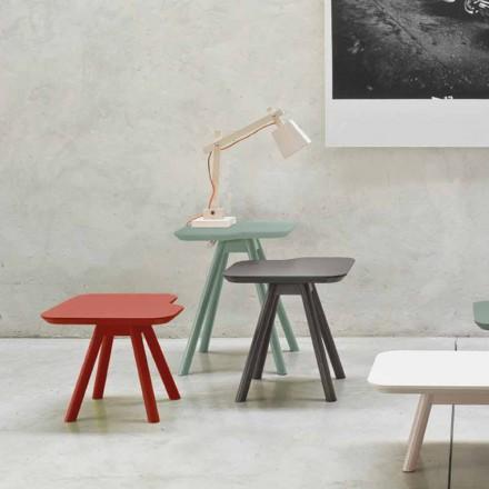 Tavolino da Salotto di Alta Qualità in Frassino Massello Made in Italy - Ulma